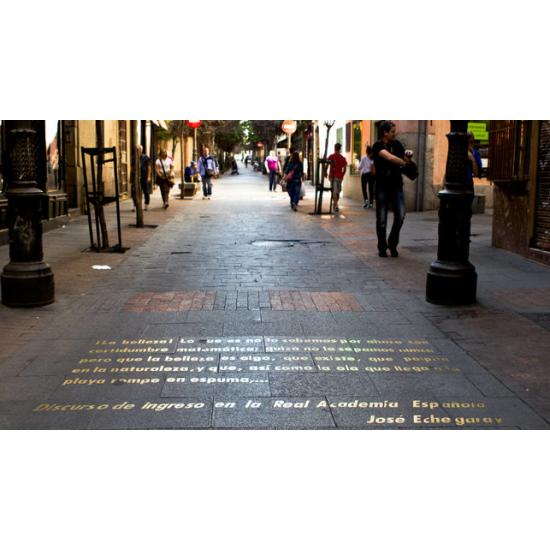 Madrid de las Letras, a pie