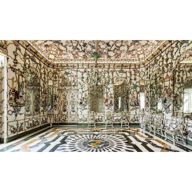 Salón de porcelana