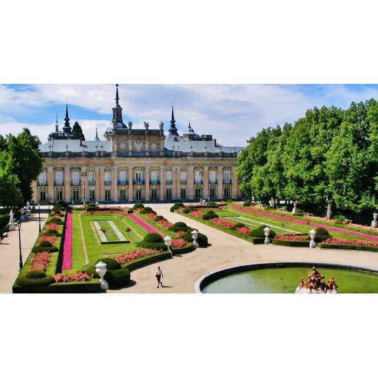 Visite du palais de La...